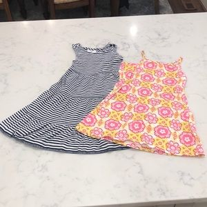 Size 100 (US 4) (x2) Hanna Andersson sundresses
